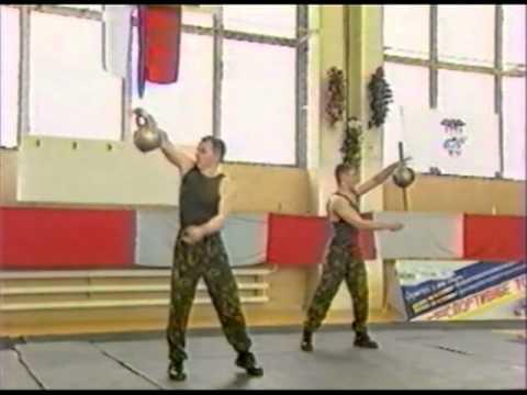 Парные выступления мужчин на Кубке России по силовому жонглированию гирями
