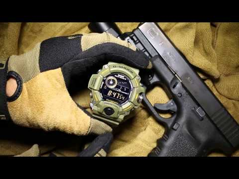 Casio G-Shock Rangeman GW-9400-3CR / GW-9400-3 (GW9400) OD Green