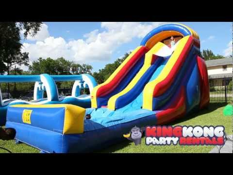 16ft Water Slide with Pool - Houston's Newest Cleanest Family Fun Wate...