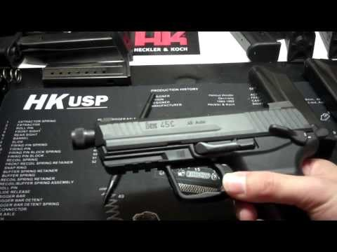 HK45CT (Compact Tactical) Review/History