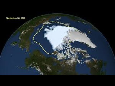 2012 Record Low Arctic Ice Sheet