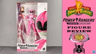 Hasbro Power Rangers Lightning Collection MMPR PINK RANGER Figure Review