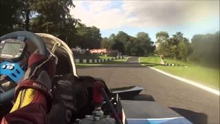 2014 British Superkart GP 125cc- Chris Needham on board