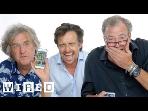 Jeremy Clarkson. Richard Hammond & James May Show Us the Last Thing on Their Phones   WIRED
