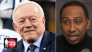 Stephen A. defends Jerry Jones: Jason Garrett doesn't give Zeke the ball! | Stephen A. Smith Show