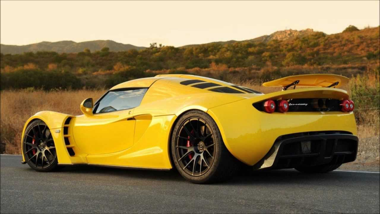 Official Top 10 Fastest Production Cars In The World 2013