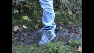 nike air max classic bw and reebok classic sneakers muddy and wet :-)