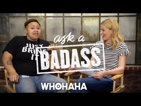 "Hartbeat on Elizabeth Banks' ""Ask A Badass"""