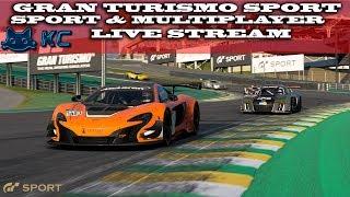 Gaming :Gran Turismo Sport (PS4) 🚗 Sport & Online Multiplayer (Live Stream🔴 19/10/2018)