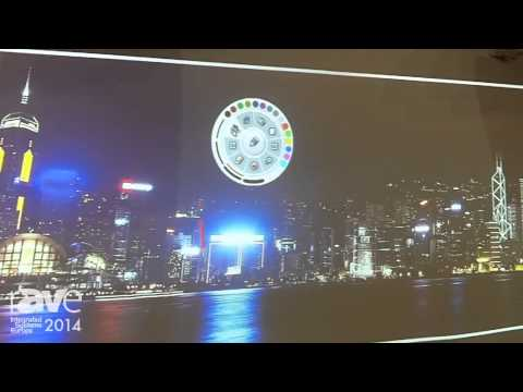 ISE 2014: Hitachi Demonstrates Interactive Ultra Short Throw Projectors