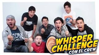 Whisper Challenge con el W2MCREW // Wereverwero