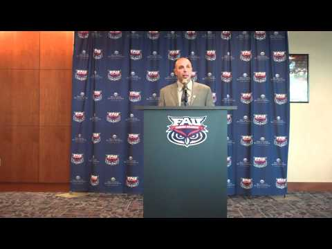 Head Football Coach Carl Pelini Introduction Press Conference