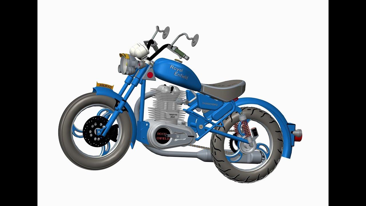 Custom Motorcycle Design Software