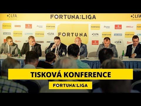 Tisková konference před FORTUNA:LIGOU 2018/19