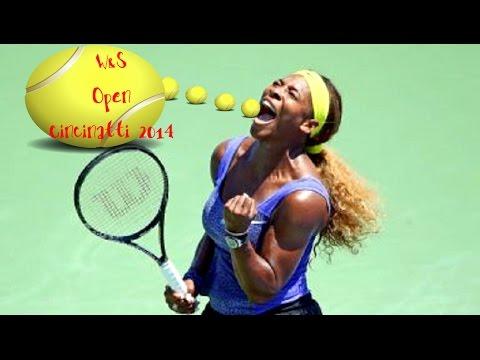 Serena Williams Vs.Jelena Jankovic-Cincinnati(QF)-Highlights-2014