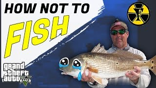 HOW NOT TO FISH | Grand Theft Auto V | TAGALOG