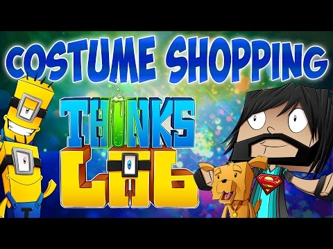 Minecraft Mods: Think's Lab - Halloween Costumes