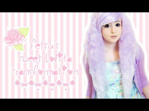 I'm Back!! ✖ Fetsu's Sweet Lolita Transformation! ✖ video