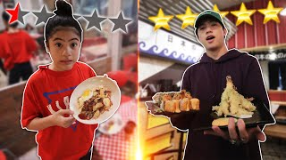 WORST Reviewed Restaurant VS BEST Reviewed Restaurant!! | Ranz and Niana