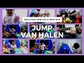 Cute Production 1 Year Old Baby Playing Van Halen Jump - Instrum Video