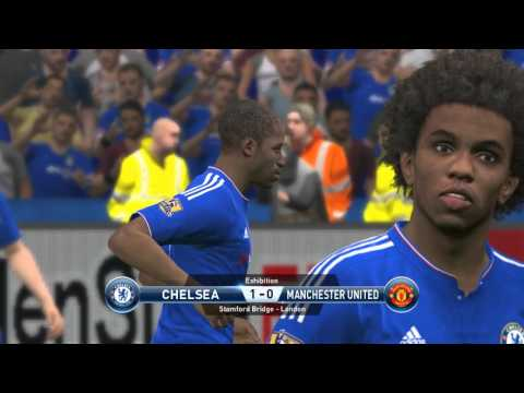 Chelsea VS Manchester United-Pes 2016 Game play/ Premier league prediction/ PC Games