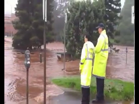 Most amazing flash flooding footage ever