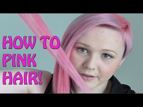 How To Dye Your Hair From Brown To Pink - Tips and Tricks!