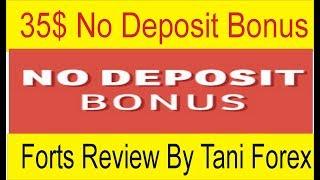 35$ No Deposit Bonus Fortfs Broker | Review by Tani Forex In Urdu and Hindi