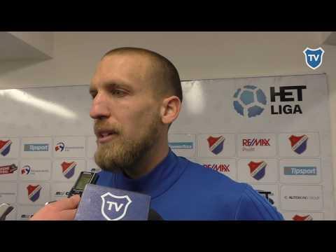 HET liga: Martin Šindelář hodnotí utkání s Bohemians 1905 (2:0)