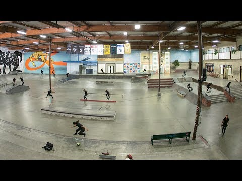 David Gonzalez Shreds Every Inch Of The Berrics | It Must Be Nice