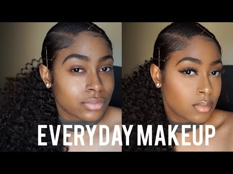 My Go-To Everyday Makeup Routine   Jessica Rae