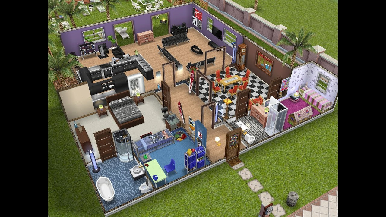 Family house layouts