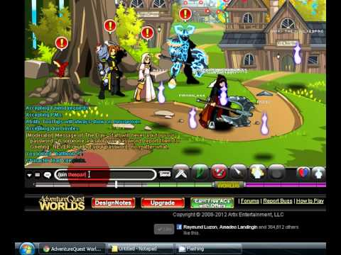 How To Get Cool Aqworlds Armor,helm And Gun 2012 video