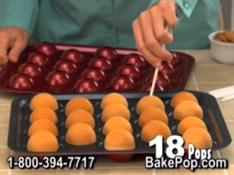 Cake Pop Tin Instructions