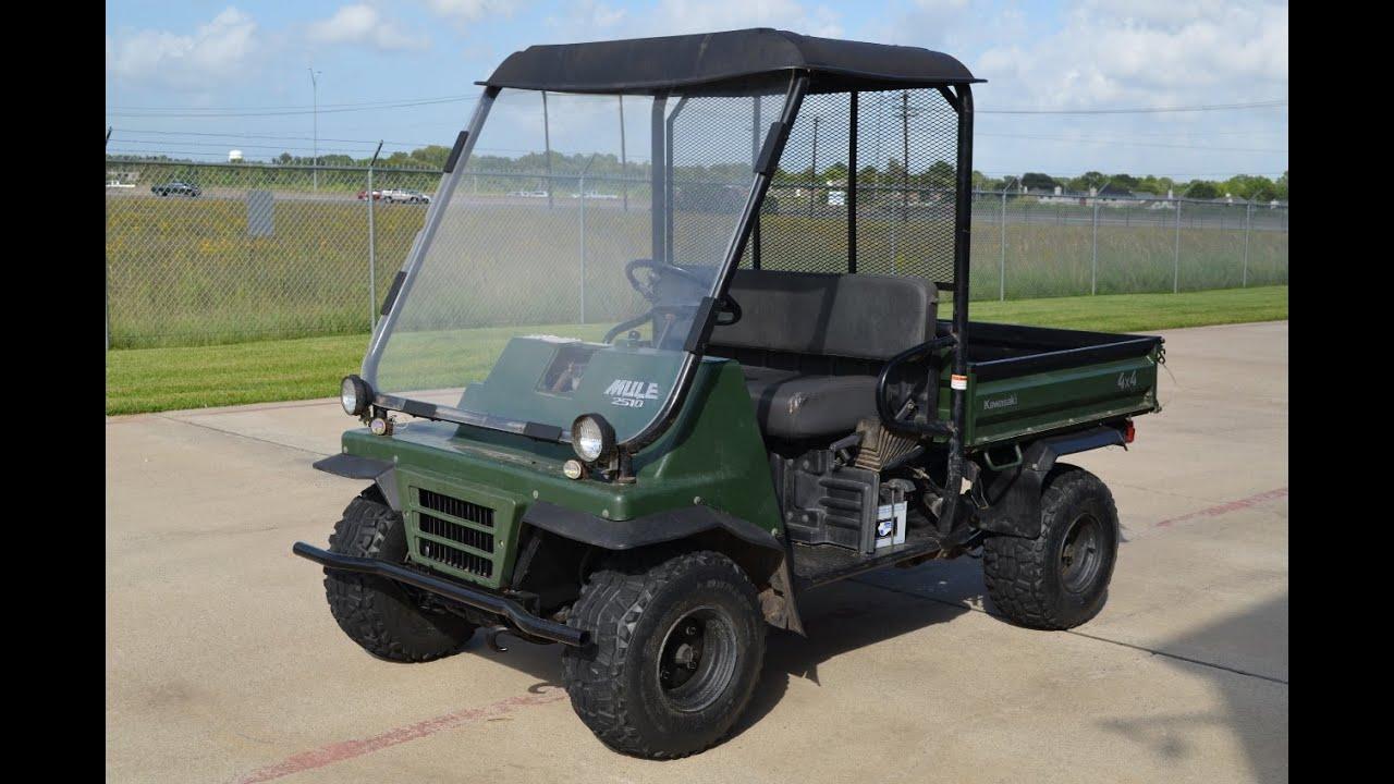 Houston Kawasaki Mule