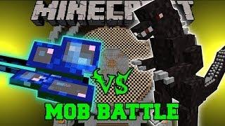 MOTHRA VS GODZILLA - Minecraft Mob Battles - Boss Mods