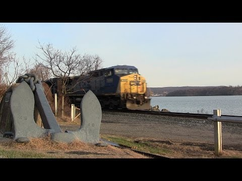 vote no on : csx 8727 leads rjay grain train with an ex