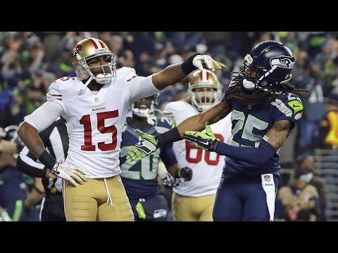 Richard Sherman wired vs. Michael Crabtree 2013 NFC Championship Game