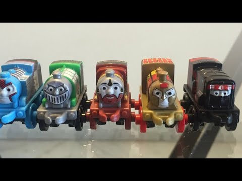 Thomas and Friends Exclusive Warrior Minis