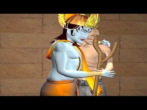 Krishna Sudama - Krishna Gets Excited Seeing Sudama video