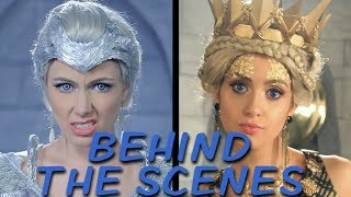 FREYA vs RAVENNA Behind the Scenes (Princess Rap Battle)