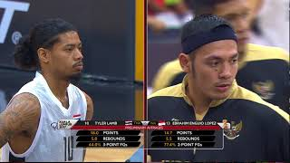 KL2017 29th SEA Games | Men's Basketball - SEMI-FINALS 2 - 🇹🇭 THA vs 🇮🇩 INA  | 25/08/2017