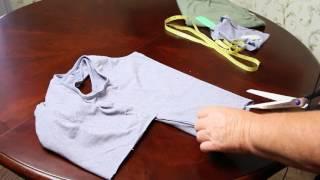 Как Сделать Топик на Лето из старой майки за 5 минут