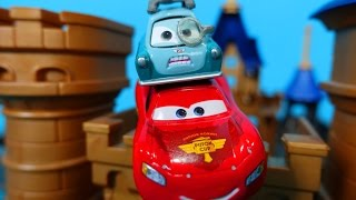 The Cars English. Lightning McQueen was enchanted by Professor Zundapp