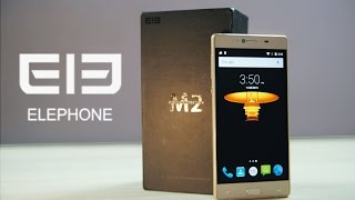 Elephone M2 - Unboxing & Hands On!