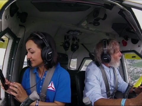 Harrison Ford Takes Teenage Passenger on Flight