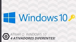Ativar o Windows 10 Definitivo (4 Formas Diferentes)