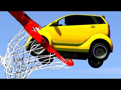 BASKETBALL DUNK THE PANTO! (GTA 5 Minigames)