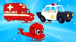 Ambulance And Police Get Help from Morphle  Kids a