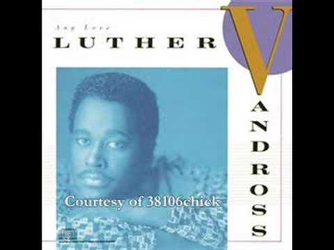 Luther Vandross - Are You Gonna Love Me